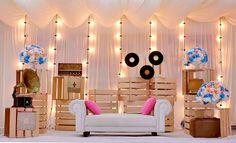 Jay D' Event Stylist By:arncamugao design. Wedding Expo Booth, Wedding Stage, Dream Wedding, Backdrop Wedding, Backdrop Decorations, Diy Wedding Decorations, Backdrops, Backdrop Ideas, Pallet Wedding