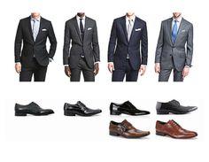 """¿Cómo combinar el traje con los zapatos? Esta es una lección que todo hombre debe aprender y """"entender"""""""