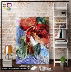 Poster Indian Girl do artista Alex Guenther!  No nosso site você ainda tem a opção de adicionar moldura e receber em casa um quadrinho pronto para pendurar.   #poster #galeria #artes #artistas #criações #posterdepapel #posteremadesivo #posterparede #parede #decoração #decor #naparede #topquadros #lojaonline #artistadasemana #posterdedecoração #compredopequeno #alexguenther #abstrato