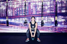 Who doesn't love a kettlebell squat? http://www.thecoveteur.com/full-body-workout-at-home-for-women/
