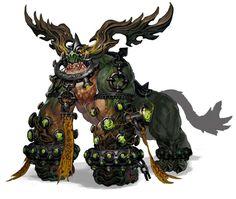 Blade And Soul Monster Design