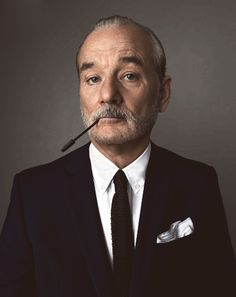 And why Bill Murray net worth is so massive? Bill Murray net worth is definitely at the very top level among other celebrities, yet why? Bill Murray, Lily Evans, Cinema Tv, Charles Bronson, Katharine Hepburn, Actrices Hollywood, Dapper Gentleman, Celebrity Portraits, Famous Portraits