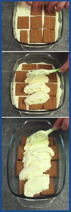 ACÁ ¡Este postre es tan sabroso como el famoso tiramisú, pero mucho más barato y fácil de preparar! #postresabroso #famosotiramisu #tiramisu #famoso #barato #facil #tips #cake #pan #panfrances #panettone #panes #pantone #pan #recetas #recipe #casero #torta #tartas #pastel #nestlecocina #bizcocho #bizcochuelo #tasty #cocina #chocolate Si te gusta dinos HOLA y dale a Me Gusta MIREN... Cooking Cake, Cooking Recipes, Sweet Desserts, Sweet Recipes, Spanish Desserts, Pastry Cake, Tiramisu, Desert Recipes, Chocolate Recipes