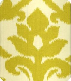 This modern, trendy Ikat print style in yellow is suitable for drapery, bedding, pillows and upholstery. Pillow Fabric, Ikat Fabric, Drapery Fabric, Fabric Decor, Fabric Design, Cotton Fabric, Ikat Pattern, Fabric Patterns, Color Patterns