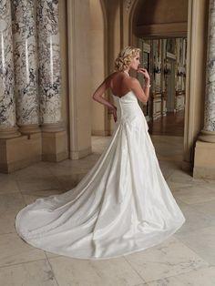 211254 Teagan Wedding Dress (Back) – Mon Cheri Bridals 2011 Autumn Collection