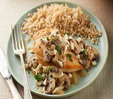 Points Plus-Stove Top Chicken & Mushrooms Recipe