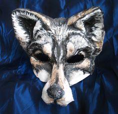 Wolf Mask Fairy Tale by FairytaleStore on Etsy, $53.00