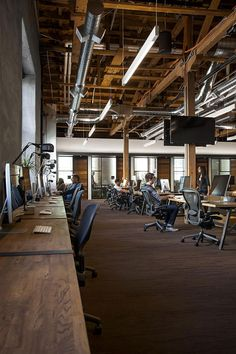 FENNIE+MEHL Architects | Office Interiors | GitHub | San Francisco | www.fm-arch.com