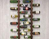 Tuscan Wine Rack 16 Bottle Ladders Set of 3 by VetrinaDelVino