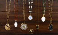 Nina Nguyen - Necklaces from various lines