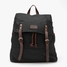 JC Backpack in Black