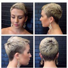 @confessionsofjemhair  #nothingbutpixies #pixiecut #shorthair #blondehair #blondepixie