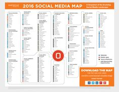Social Media Map 2016 Overdrive Interactive