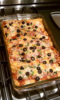 Easy Cheese Enchiladas | from DelectableDarlings.com