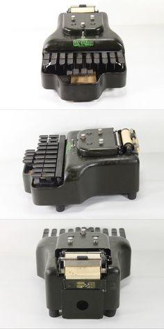 antique stenograph machine