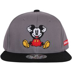 e7b467fc663 ililily Mickey Mouse New Era Style Snapback Trucker Hat Baseball Cap...  (1.390