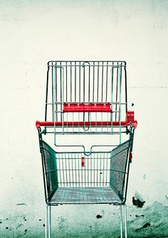 Shopping trolley for malls, stores, marts