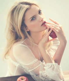 visual optimism; fashion editorials, shows, campaigns & more!: beauty: lily donaldson by david bellemere for porter #10 fall 2015
