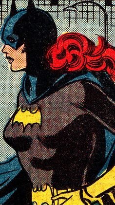 COMIC BOOK CLOSE UP B A T G I R L Detective Comics #487 (Dec. 1980) Jose Delbo (pencils), Joe Giella (inks) & Gene D'Angelo (colors)