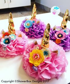 Image result for unicorn table centerpieces