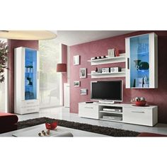 Montreal 3 | Furnitures | Pinterest | Modern wall units, Living room ...