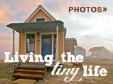 Tiny homes!!!  Could you live in less than 100 square feet?