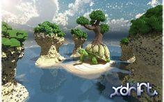 Minecraft Islands With Turtle