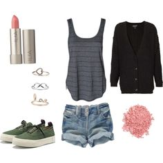Isaac Lahey Inspired Outfit by nicklechalupnik on Polyvore featuring Topshop, Eytys, Miss Selfridge, Ilia and TheBalm