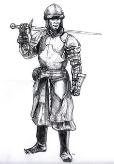 Medieval Knight by old-stone-road on deviantART