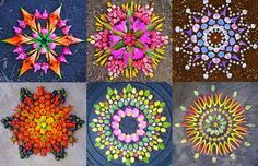 New Flower Mandalas by Kathy Klein