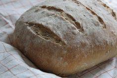 Anzkun kauhasta kajahtaa: Vaivaamatonta leipää (No-Knead Bread)
