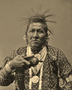 White Horse (aka Bushy Tail, aka Richard White Horse) - Otoe - 1894