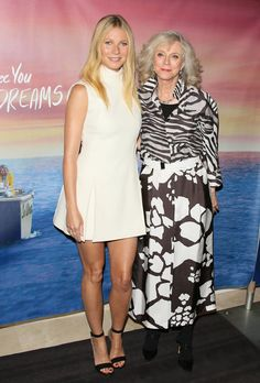 Pin for Later: Gwyneth Paltrow Has an Adorable Night Out With Her Mom
