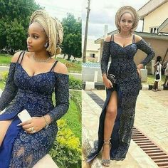 ng 🧚🧚🧚🧚🧚 Lace and Ankara dresses. African attire, African clothing ankara styles pictures, ankara styles 2018 for ladies, Aso Ebi Lace Styles, African Lace Styles, Lace Dress Styles, African Lace Dresses, African Clothes, African Style, Nigerian Lace Dress, Nigerian Dress Styles, Ankara Gown Styles