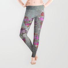 Print all over leggings with heart design from LebensART