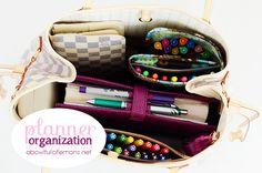 ABFOL planner organization - Filofax