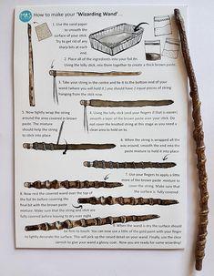 Wizarding wand making Kit