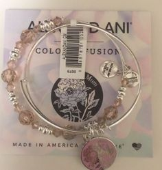 Authentic-Alex-And-Ani-Mothers-Day-Set-Swarovski-Silver