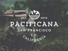 Dribbble - Pacificana Company by Jorgen Grotdal