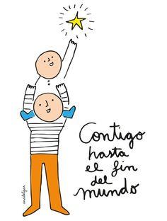 90 Imágenes con frases y mensajes para felicitar el Día del Padre | FrasesHoy.org