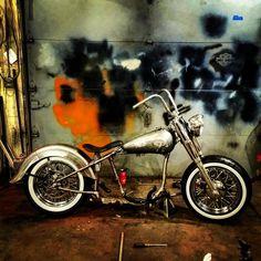 Art Hogenson's next bike build in progress