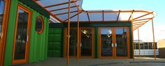 Cuffley School - Projects - Container City