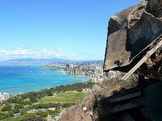 Diamond Head Trail Oahu Hawaii