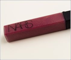 NARS Oasis lipgloss - mauve pink with gold speckles - for the fall!