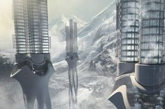 2012 Skyscraper Competition : The Himalayas Water Tower - Saving Water For The Future.