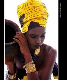 African look...