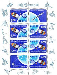 Stamp spacecraft