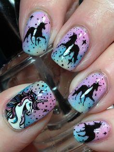 Unicorn Nails!♥♥