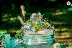 Bohém stílusú esküvőnél a torta sem lehet klasszikus!