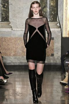 Emilio Pucci Fall 2012 #MFW -- looove this dress and want it so badly.